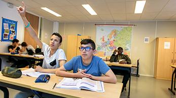 Iedersland college biedt de leerlingen kleine klassen